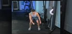Work your arms with single arm cable reverse pulls