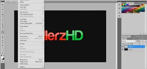Create 3D, glossy text in Adobe Photoshop CS$