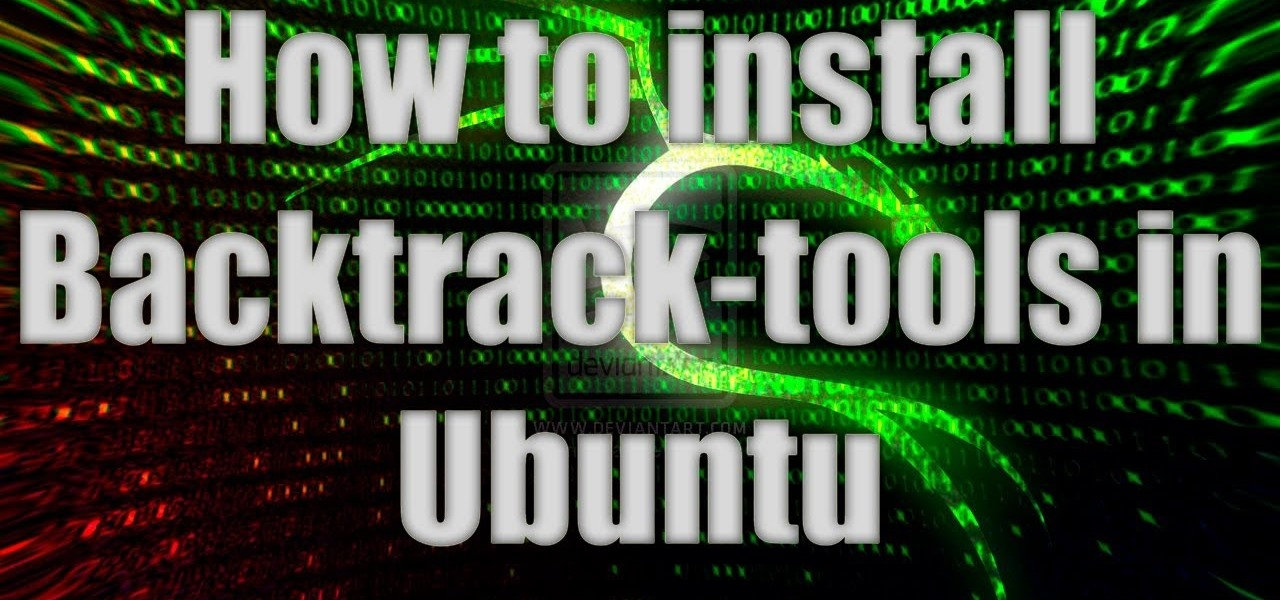 Install Backtrack-Tools in Ubuntu