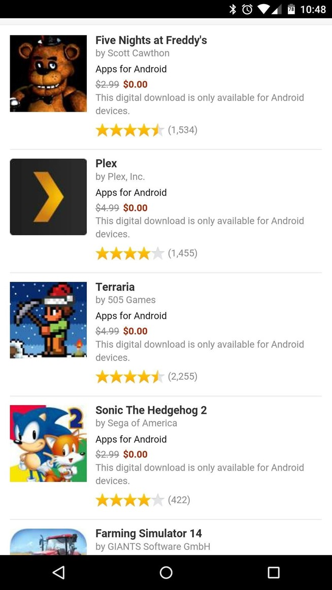 all paid apps free app store android one the