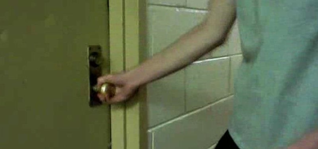 How To Trap Your Roommate In Their Dorm Room Using Nothing But Pennies «  Practical Jokes U0026 Pranks :: WonderHowTo Part 77