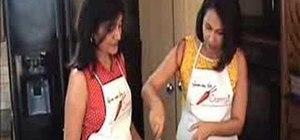 Make bhel puri (chaat)
