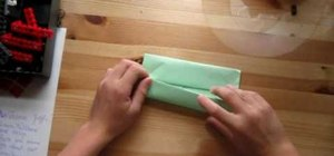 Make a cool looking paper box