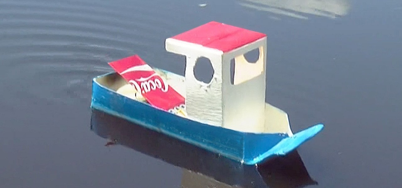 Make a Simple Pop Pop Boat