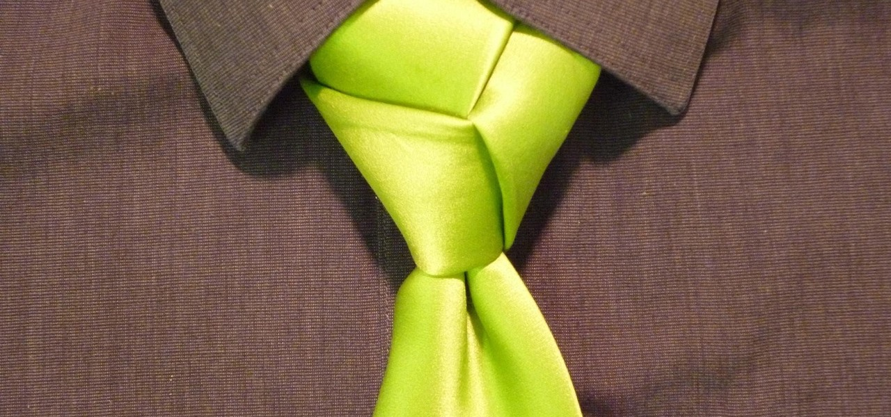 Tie the Trinity Knot for You Necktie (Animated Guide)