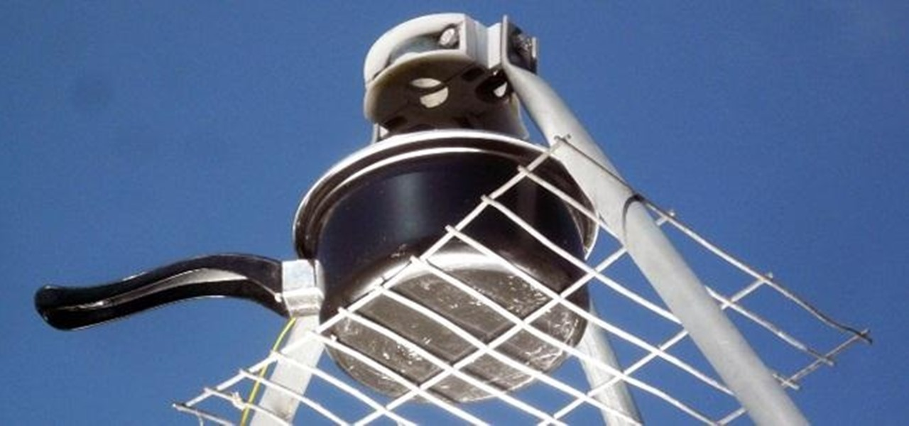 Turn Your Old Satellite Dish into an Outdoor Solar Cooker