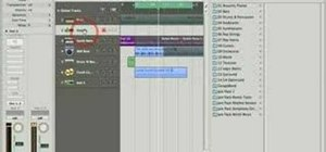 Use audio instruments in Logic Pro 8