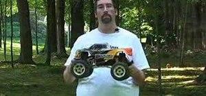 Jump RC monster trucks