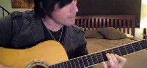 """Play """"Dear Prudence"""" by the Beatles on guitar"""