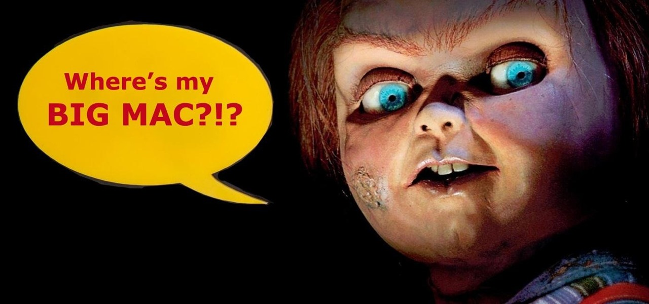 The World's Creepiest McDonald's Drive-Thru Prank Ever (Chucky Wants His Big Mac!)