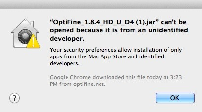 how to download and install optifine 1.8