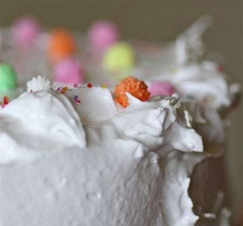 RECIPE: Orange Cake & Billowy Clouds of White Meringue