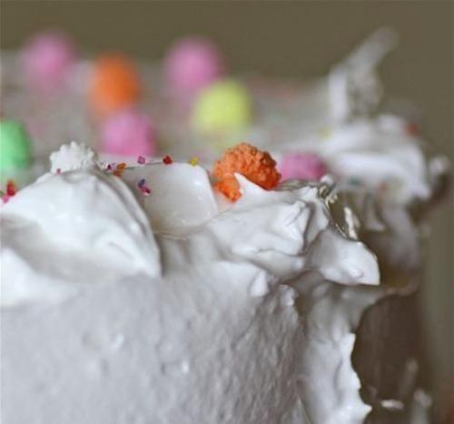 RECIPE: Orange Cake & Billowy Clouds of White Meringue