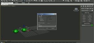 Create object arrays in 3D Studio Max 2010