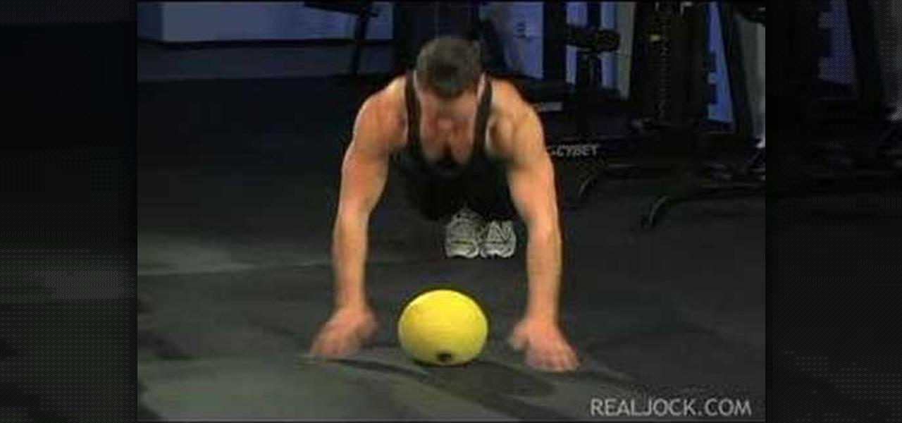 Medicine Ball Push Ups Benefits