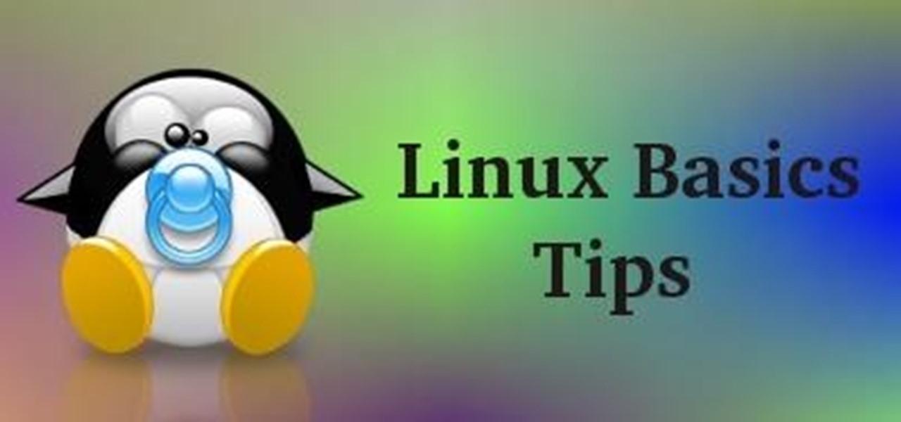 Linux Basics Tips