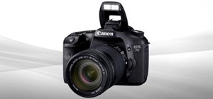 Use the flash functions on the Canon EOS 7D