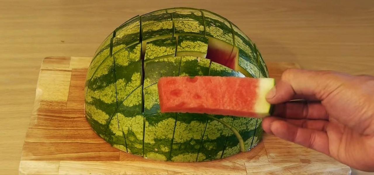 Prepare & Serve Watermelon for Parties