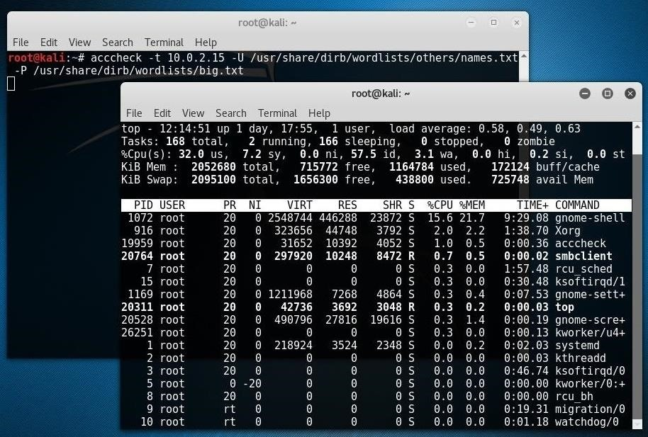 Use Acccheck to Extract Windows Passwords Over Networks « Null Byte