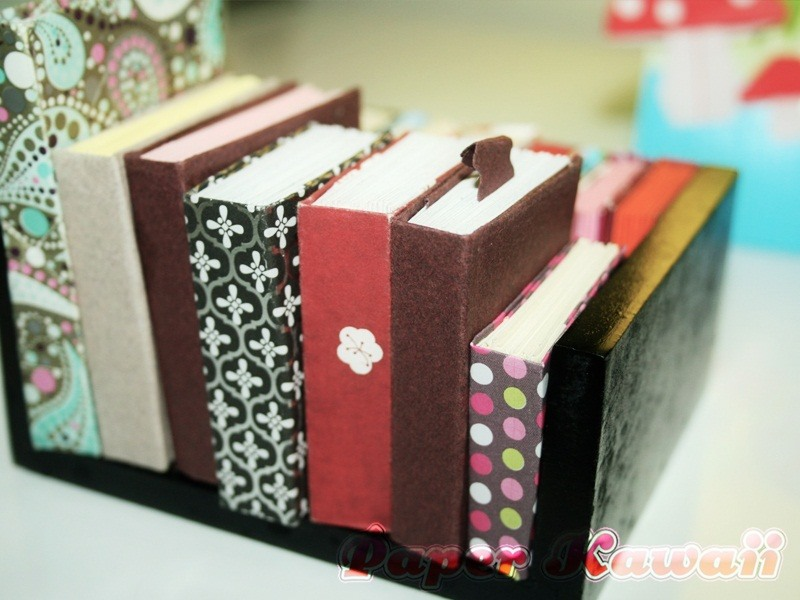 Mini Origami Books Tutorial | Paper Kawaii