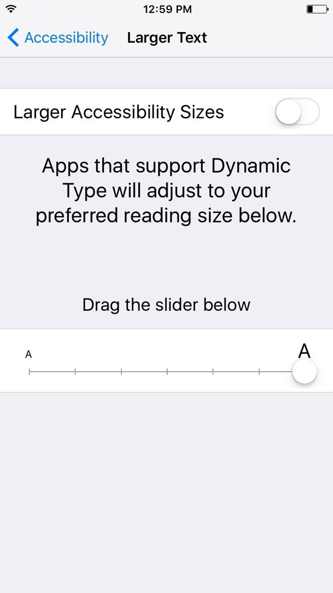How to Increase or Decrease Text Size on Your iPad, iPhone, or iPod touch