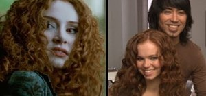 Curl ringlets like Victoria from Twilight: Eclipse