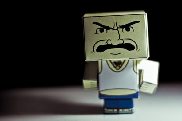 Bokeh Photography Challenge: Blocky Carl