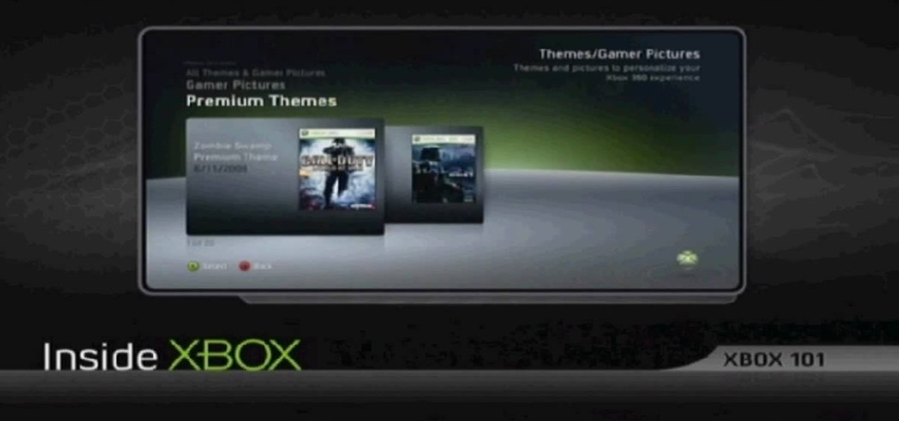 how to change your theme on xbox 360 dashboard