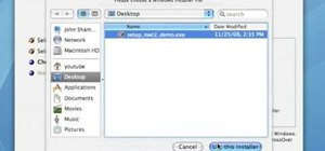 Run a Windows app on a Mac OSX using Crossover