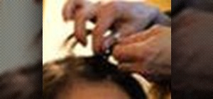 Make a front side-braid