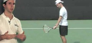 Add loop to one-handed backhand progressions in tennis