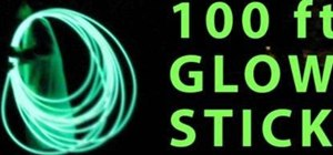 Make a 100 foot glow stick with Dr. Lithium