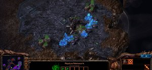 Use the Nydus Worm to harvest resources in StarCraft 2