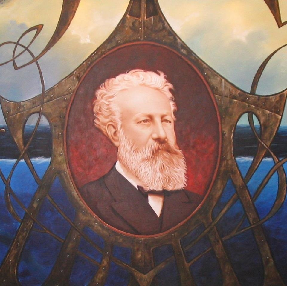 Happy 185th Birtday, Jules Verne!