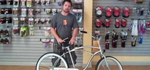 Adjust your beach cruiser bike to fit you & be comfy