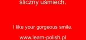 Compliment your partner in Polish