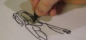 Draw a formal dress