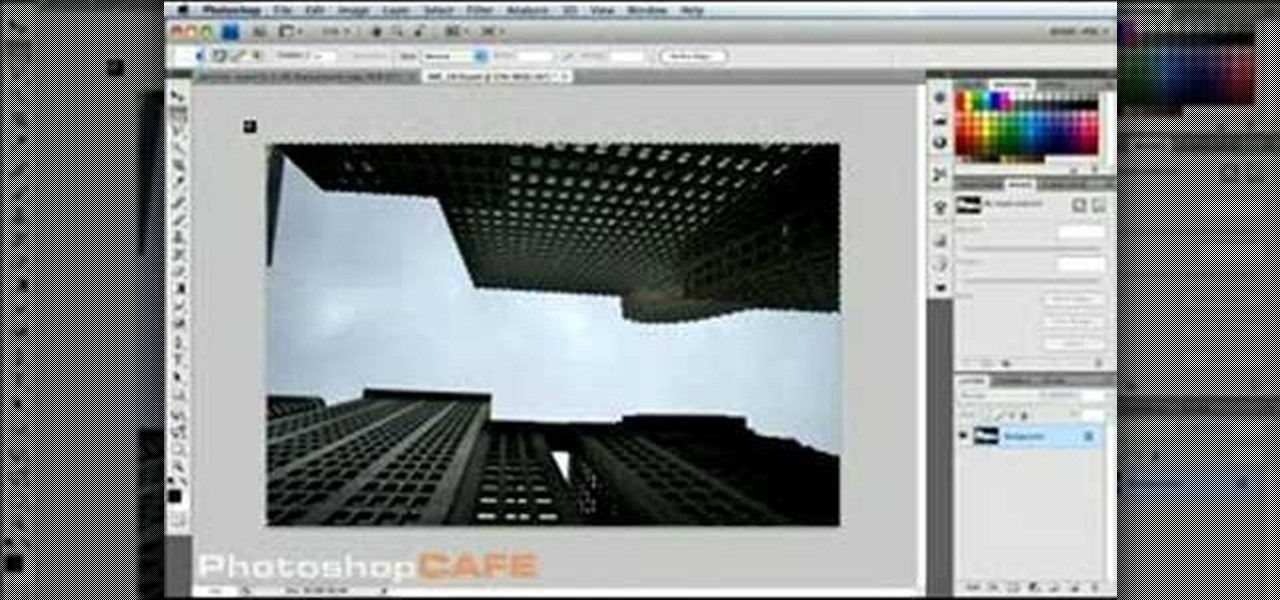 How to Use Content-Aware-Scaling in Photoshop CS4