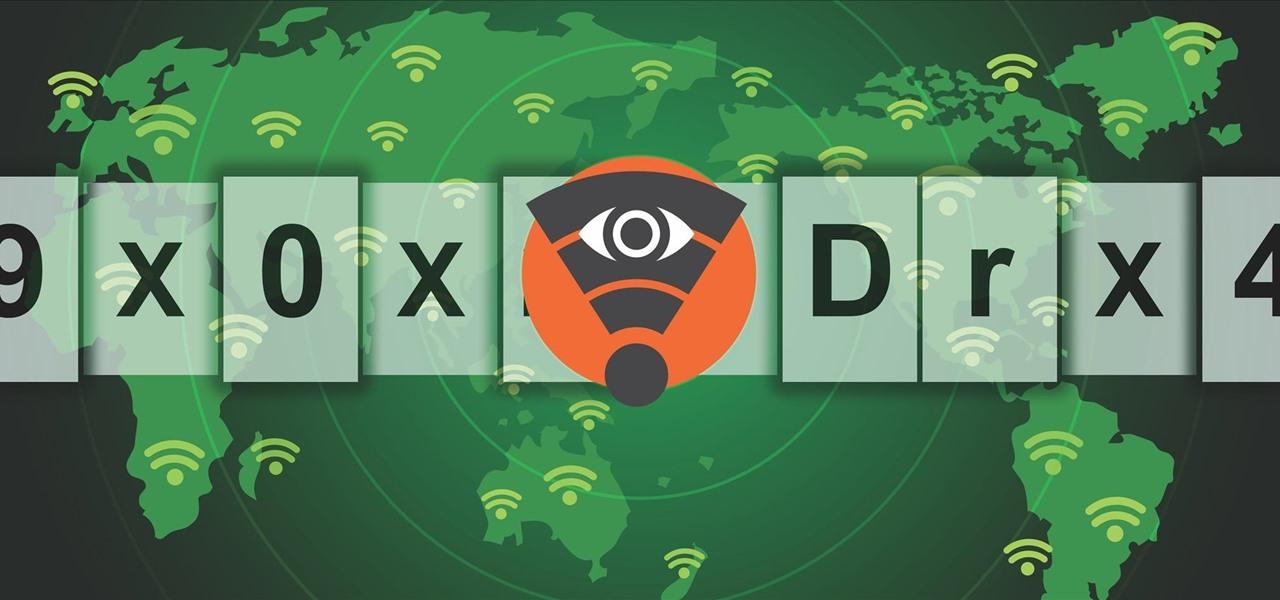 Wireless wep key password spy crack