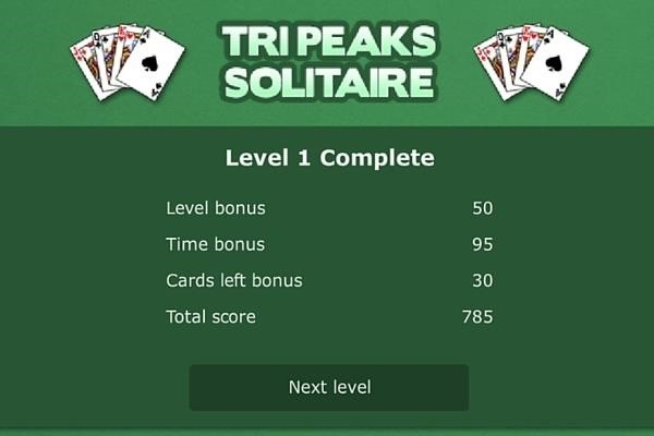 how to play tripeaks
