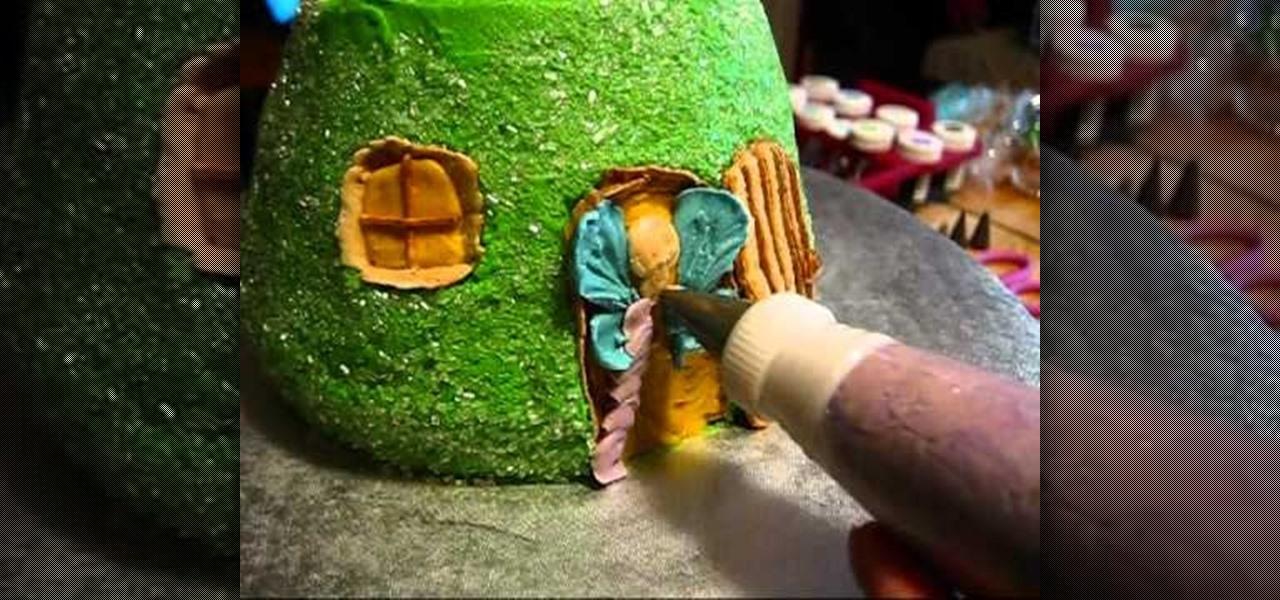 How To Decorate A Beautiful Fairytale Mushroom House Cake Cake
