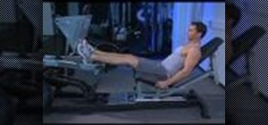Strengthen your calves with incline calf presses