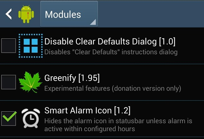 the Alarm Icon Shows Up in the Status Bar on Your Samsung Galaxy S4