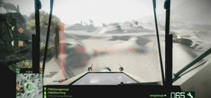 Master flying the helicopter in Bad Company 2