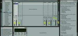 Use the AutoPan effect in Ableton Live