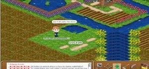 Make a waterfall in Farm Town (09/03/09)