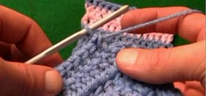 Change crochet colors without knots for left handers