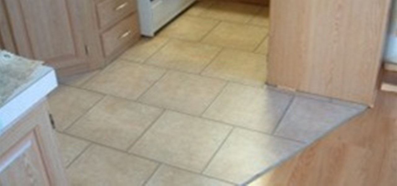 How To Put Trim On Kitchen Floor