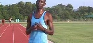 Warm up from Gazelle track and field training program