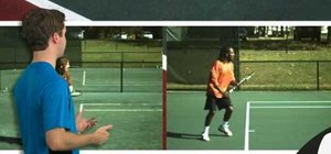 Catch your racket on a topspin tennis forehand